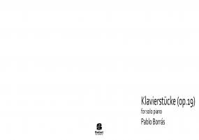 Klavierstücke (op19)