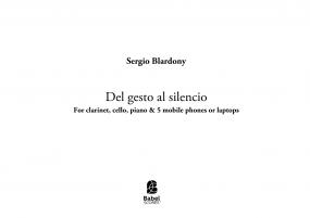 Del gesto al silencio