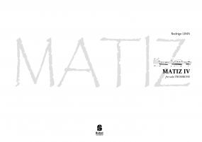 MATIZ IV