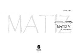 MATIZ VI