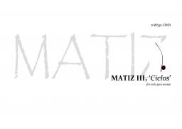 MATIZ III, 'Ciclos'