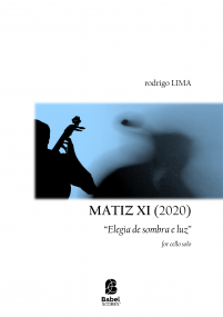 MATIZ XI for cello solo
