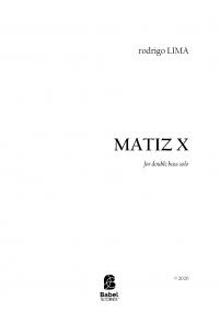 MATIZ X