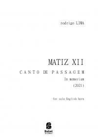 MATIZ XII