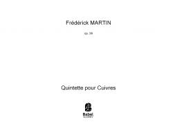 Quintette pour Cuivres