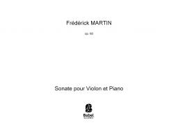 Sonate pour Violon et Piano