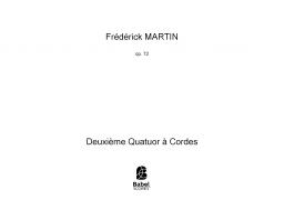 Deuxième Quatuor à Cordes