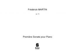 Première Sonate pour Piano