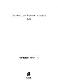 Concerto pour Piano et Orchestre