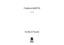 Scritta di Fausto