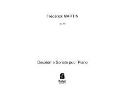 Deuxième Sonate pour Piano