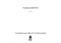 Concerto pour Alto et 14 instruments