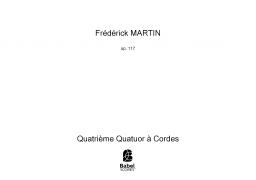 Quatrième Quatuor à Cordes
