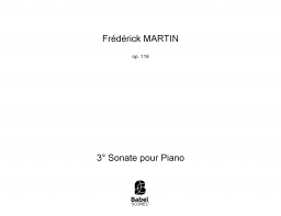 3° Sonate pour Piano