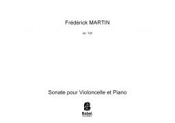 Sonate pour Violoncelle et Piano