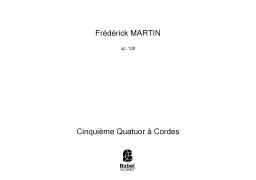 Cinquième Quatuor à Cordes