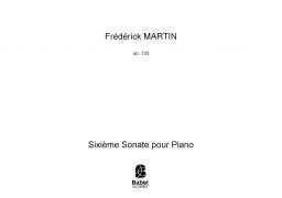 Sixième Sonate pour Piano
