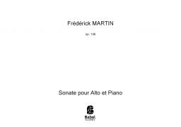 Sonate pour Alto et Piano