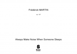 Always Make Noise When Someone Sleeps image
