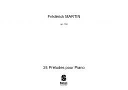 24 Préludes pour Piano
