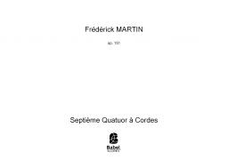 Septième Quatuor à Cordes