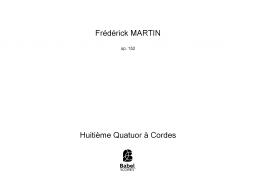 Huitième Quatuor à Cordes