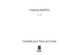 Quintette pour Piano et Cordes