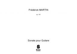 Sonate pour Guitare