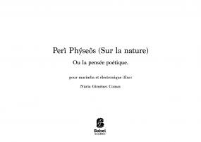 Peri Physeos