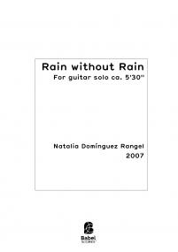 Rain without Rain