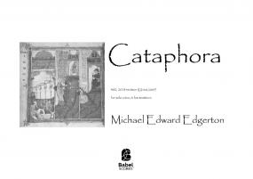 Cataphora: lulus brevicum