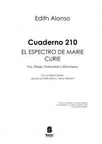 Cuaderno 210: el espectro de Marie Curie