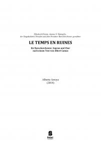 Le Temps en Ruines