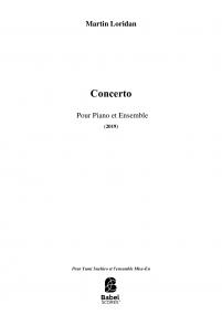 Concerto Pour Piano et Ensemble