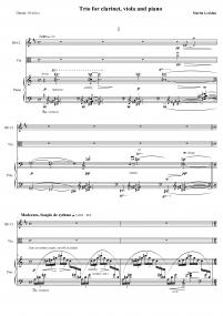 Trio pour clarinette, alto et piano