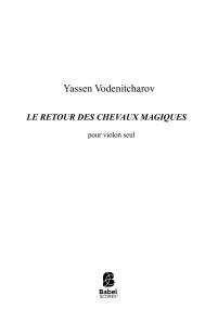 LE RETOUR DES CHEVAUX MAGIQUES