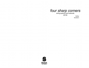 4 Sharp Corners image