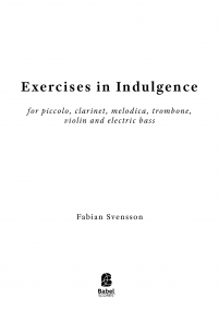Exercises in Indulgence