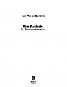 Oboe Manifesto