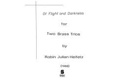 Of Flight and Darkness image
