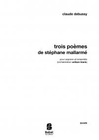 Trois Poèmes de Stéphane Mallarmé
