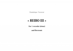 REIBO III