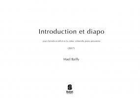 Introduction et diapo