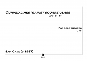Curved Lines 'Gainst Square Glass