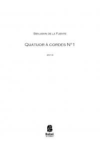 Quatuor à cordes N°1