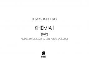 Khemia I