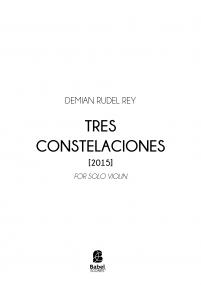 Tres Constelaciones