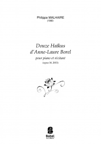 Douze Haïkus d'Anne-Laure Borel