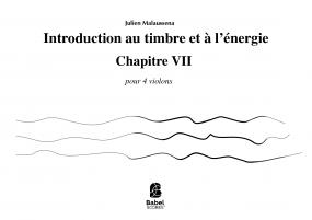introduction au timbre et à l'énergie chapitre VII