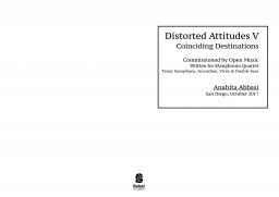 Distorted Attitudes V  image